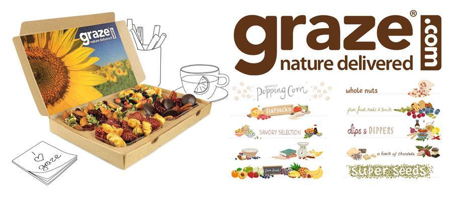 Graze Sends Healthy Snacks by Mail