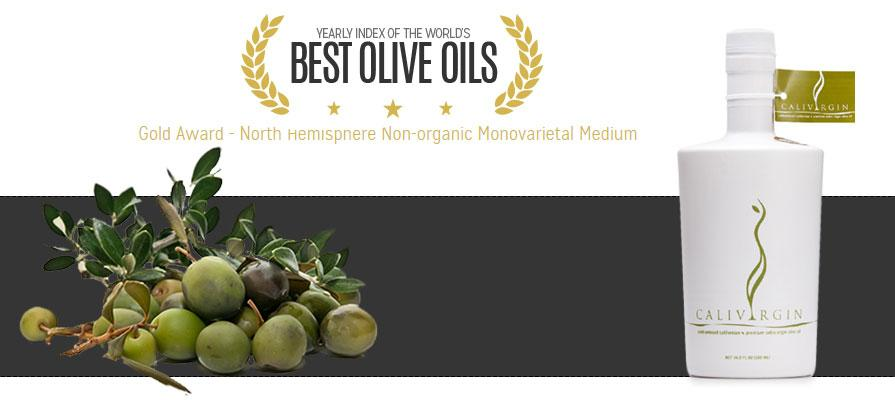 Calivirgin Olive Oil Wins Gold at the New York International Olive Oil Competition