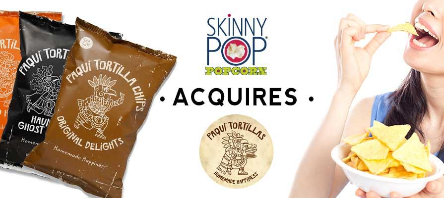 SkinnyPop Acquires Paqui Inc., an Austin, TX Tortilla Company