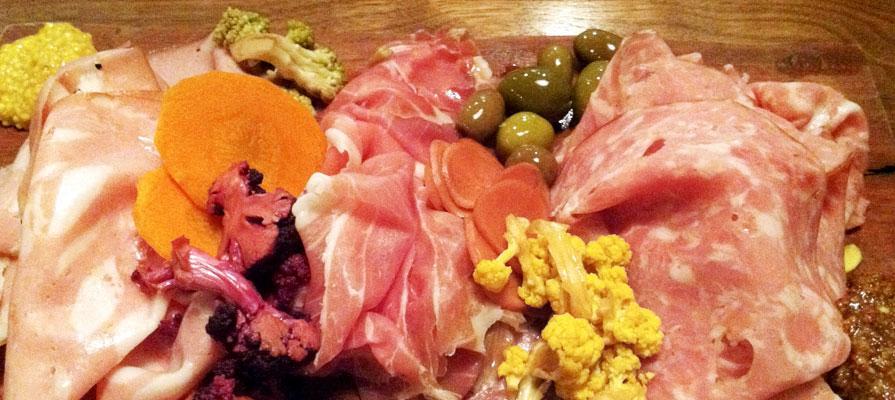 The Butcher Block - Salame Rossa, Parma, Mortadella