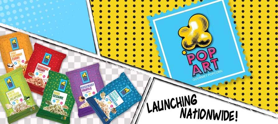 Pop Art Snacks Launching in World Markets and Select Safeway Stores Nationwide