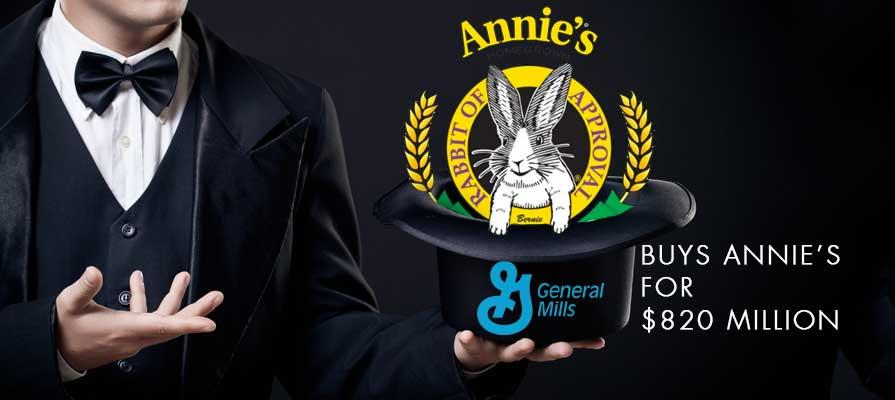 General Mills Acquires Annie's for 820 Million Dollars
