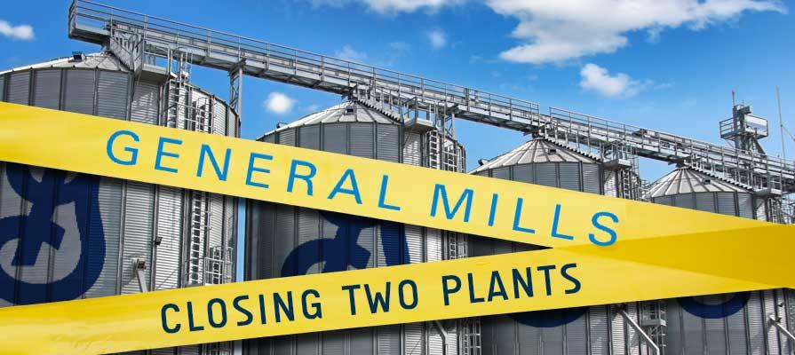 General Mills Closing Two Plants in Effort to Cut Costs