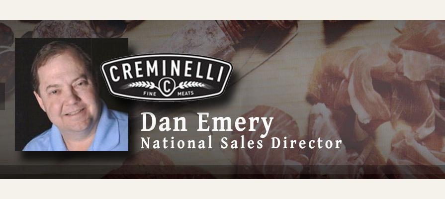 Creminelli Fine Meats Appoints Dan Emery as National Sales Director