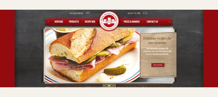 Les Trois Cochons Unveils New and Improved Website