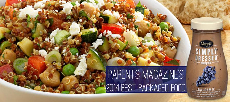 Marzetti Simply Dressed Light Balsamic Vinaigrette Named 2014 Best Packaged Food
