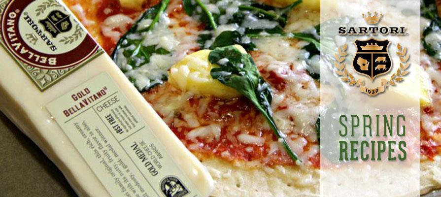 Sartori Cheese Presents New Spring Recipes