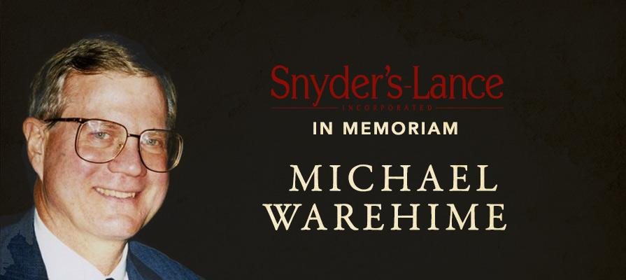 In Memoriam: Michael Warehime