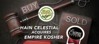 Hain Celestial Acquires Empire Kosher Foods for $57 Million