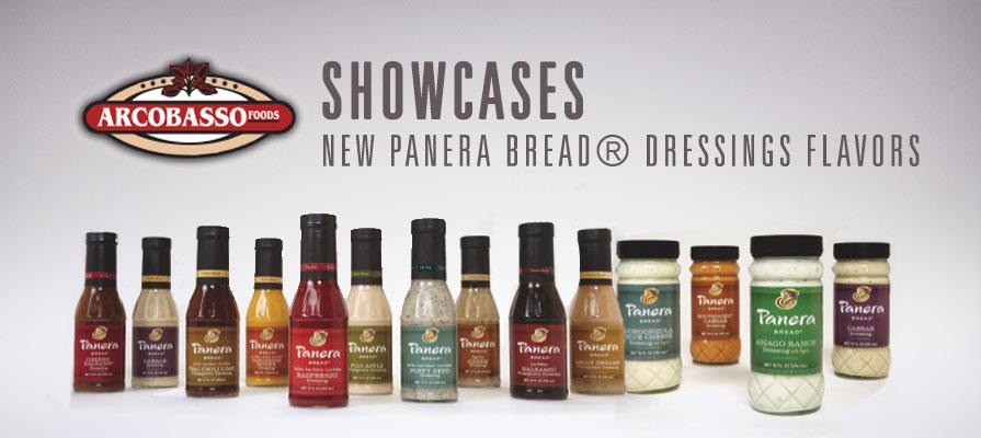 Arcobasso Foods' New Panera Bread<sup>&reg;</sup> Dressings Flavors Showcased at PMA Fresh Summit