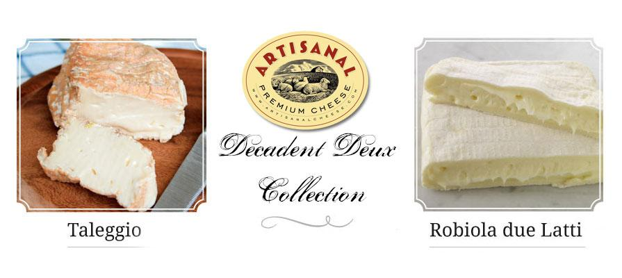 Artisanal Premium Cheese Releases Decadent Deux Collection