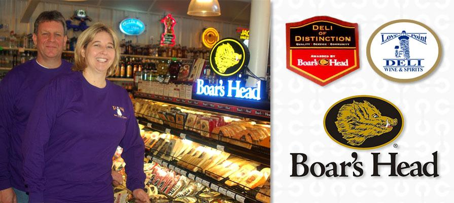 Boar's Head Recognizes Love Point Deli as a Deli of Distinction