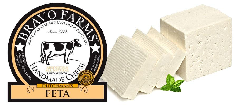 Bravo Farms Launches New California Dutchman's Feta
