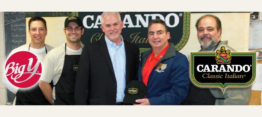 Carando and Big Y Serve a Well-Deserved Holiday Dinner to Massachusetts Firefighters