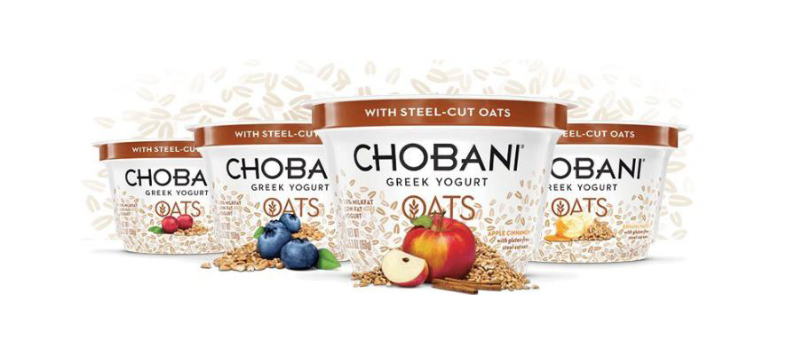Chobani Launches New Greek Yogurt Oats and Campaign to