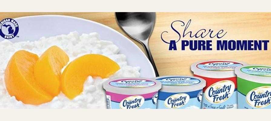 Country Fresh Introduces Cottage Cheese Made with Sea Salt