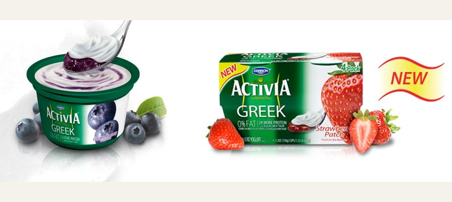 Dannon Launches Activia Greek Yogurt