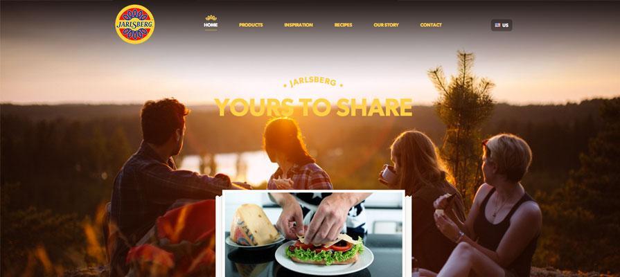 Norseland Enhances Jarlsberg USA Website