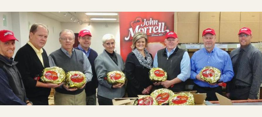 John Morrell Donates 5,000 Pounds of Ham to Utah Food Bank