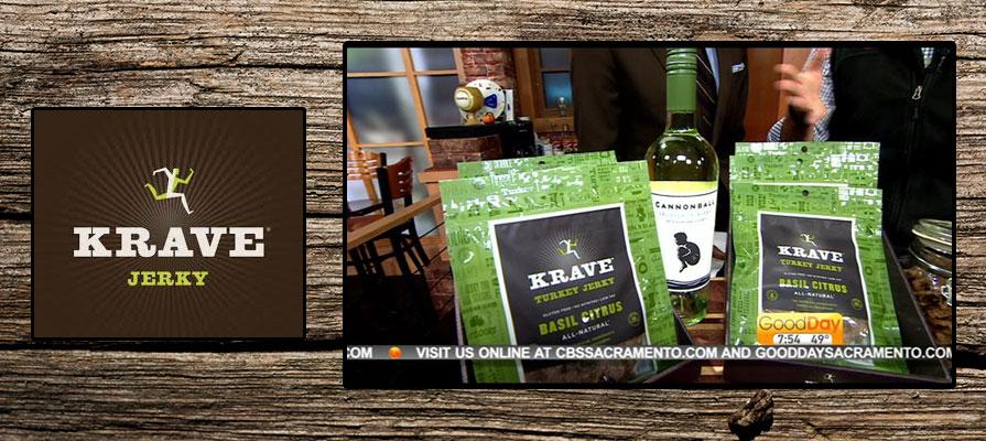 Krave Jerky Alcohol Pairings Featured on CBS Morning Show