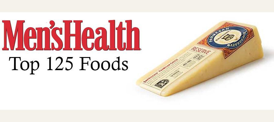 Sartori Cheese Recognized by Men's Health Magazine
