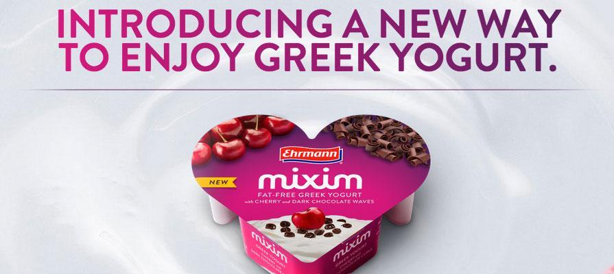 Ehrmann to Celebrate U.S. Launch of MIXIM Greek Yogurt with Valentine's Day Festival
