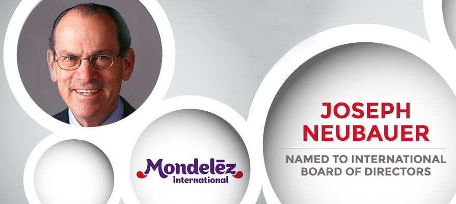 Joseph Neubauer Named to Mondelez International Board of Directors