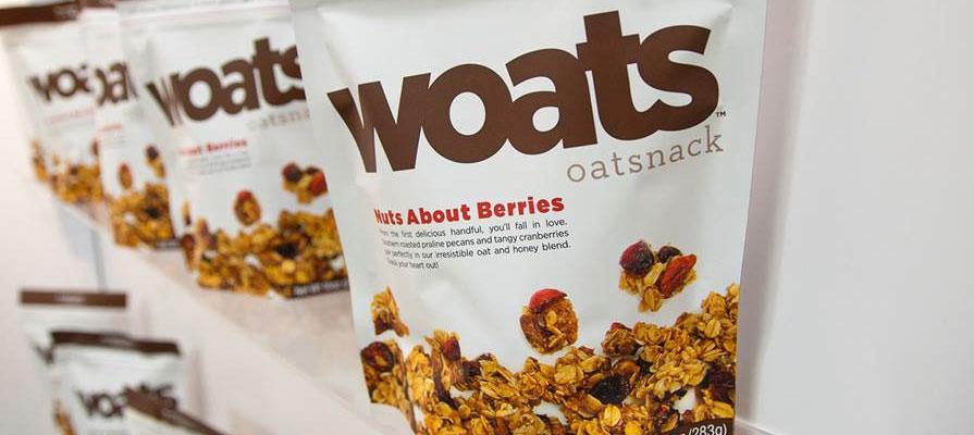 WOATS Oatsnacks are Making a Big Splash in the Snack Aisles