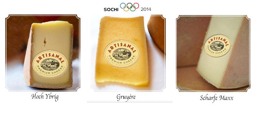 Artisanal Premium Cheese Features Alpine Style Cheese for the Olympics