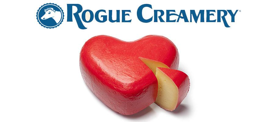 Rogue Creamery Offers a Collection of Cheeses to Offer for Valentine's Day