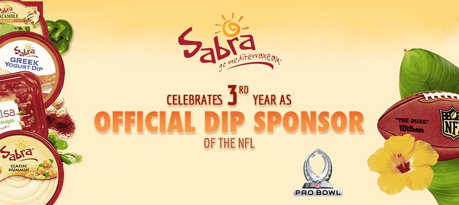Sabra Celebrates Third Year as Official Dip Sponsor of the NFL