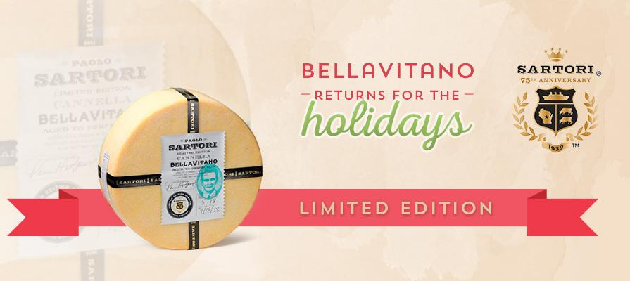 Sartori Cheese Launching Cognac BellaVitano and Limited Edition Gift Basket for December