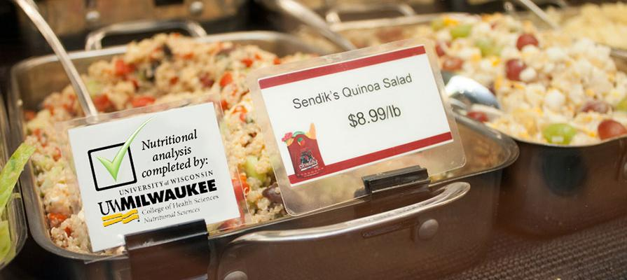 Sendik's Partners with University of Wisconsin-Milwaukee to Provide Nutritional Facts Prepared Foods