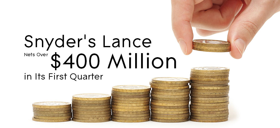 Snyder's Lance Nets Over $400 Million in Its First Quarter