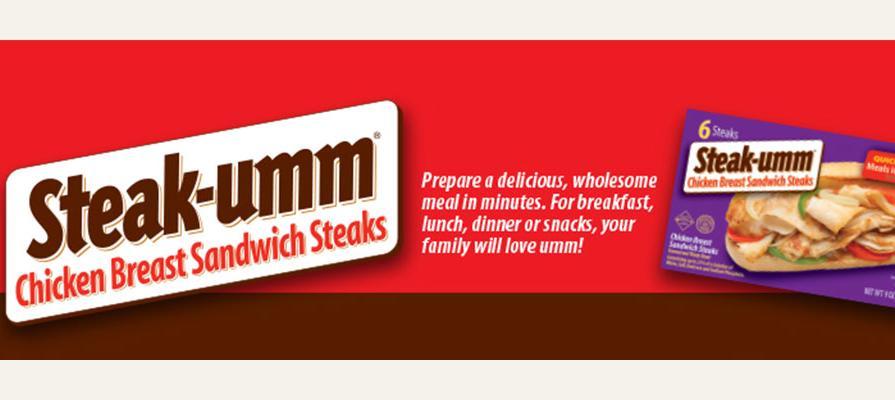 Steak-umm Featuring Chicken Breast Sandwich Steaks