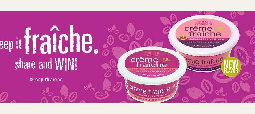 Vermont Creamery Partners with Four Food Bloggers to Celebrate its Crème Fraîche