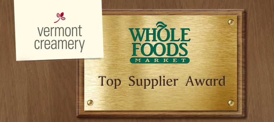 Vermont Creamery Wins Top Supplier Award from Whole Foods
