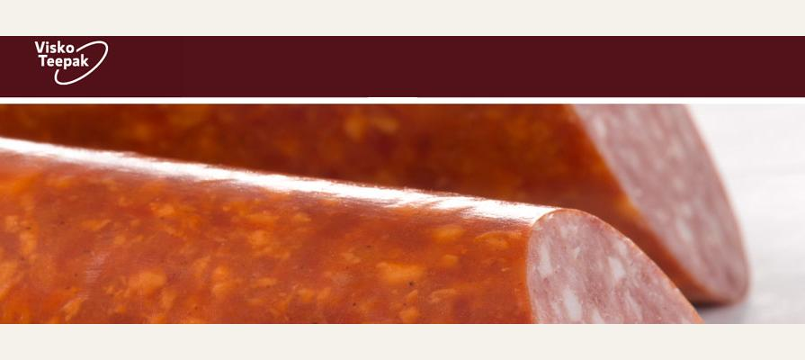 ViskoTeepak Develops Fibrous Xtreme for Semidry and Dry Sausage Casing and Production