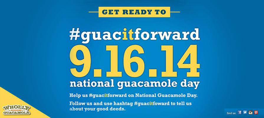 Wholly Guacamole Celebrates National Guacamole Day