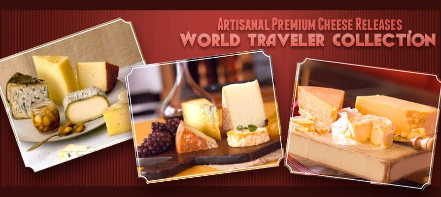 Artisanal Premium Cheese Releases World Traveler Collections