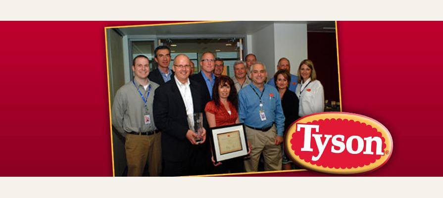 Tyson Foods Awards Curwood, Inc 2011 Supplier of the Year In the Packaging Category