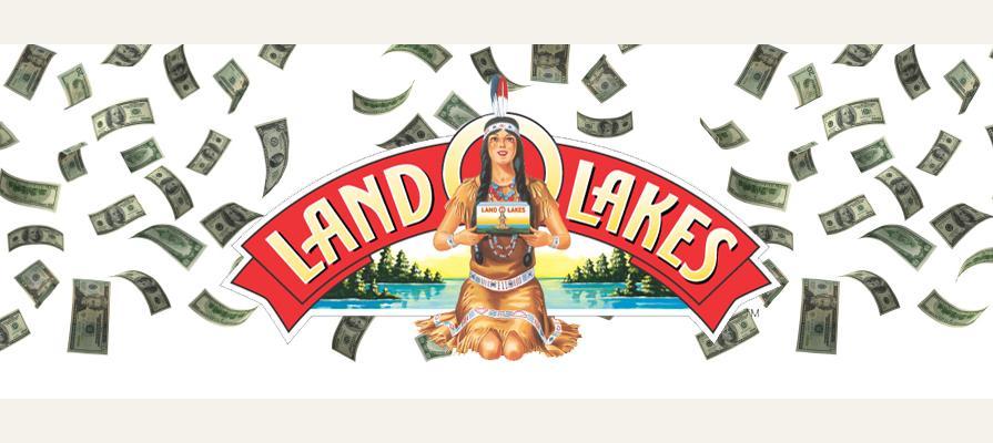 Land O'Lakes Reports Record Sales